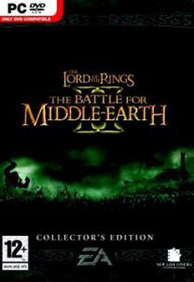 Lord of the Rings Battle for Middle Earth 2 II Collectors Edition PC NEW