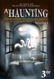 A Haunting: Season 3 (DVD, 2011, 3-Disc Set), NEW SEALED REGION 4