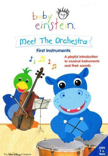 Baby Einstein Meet The Orchestra Ebay