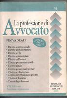 La Professione Di Avvocato - Prova Orale -  - ebay.it