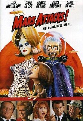 Mars Attacks  Dvd Region 1