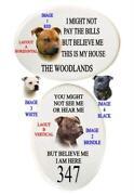 Dog Sign Staffie