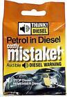 Diesel Warning