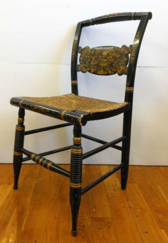 Hitchcock Chair Rush Ebay