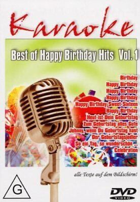 Karaoke DVD - Best of Happy Birthday Hits vol.1 u.a  Beatles, Stevie Wonder