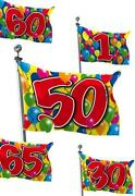 Fahne Geburtstag