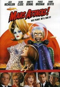 Mars Attacks [New DVD] Full Frame, Repackaged, Widescreen, Amaray Case