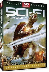 NEW Sci-Fi Classics 50 Movie Pack (DVD)