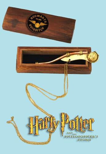 Madam Hooch Bosun Whistle, Harry Potter, Hogwarts Quidditch, Wizarding World, HP