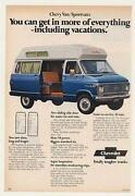 Chevy camper Van
