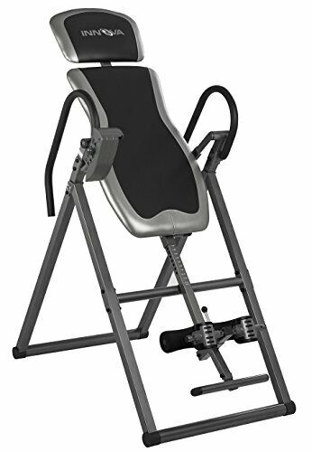 Comfortable Back Rest Heavy Duty Inversion Table with Adjustable Headrest Pad