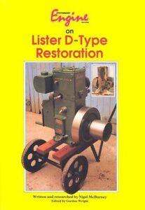 Stationary Engine on Lister D Type Restoration by Kelsey Publishing Ltd (Paperb…