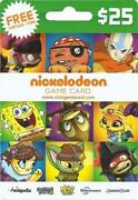 Nickelodeon Card
