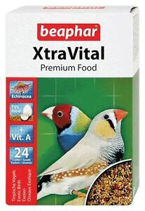 Beaphar Xtravital Finch Food 500g Additional proteins are included as Eggfood.