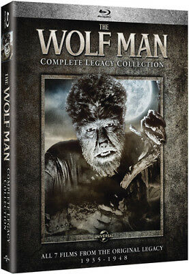 The Wolf Man: Complete Legacy Collection [New Blu-ray] Boxed Set, Snap Case (Halloween Wolf Music)