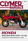 Honda CRF Motorcycle Repair Manuals & Literature