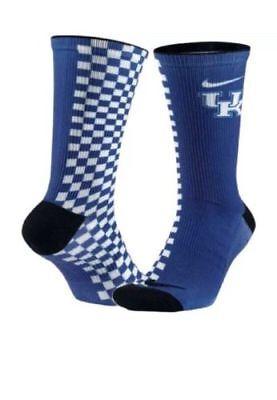 Nike Elite Cushion Quarter University Red/Deep Royal Blue Running Socks (1 Pair)