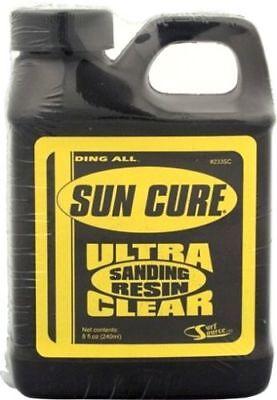 - SUN CURE 1/2 PINT SANDING RESIN