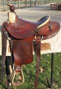 Trophy Roping Saddle