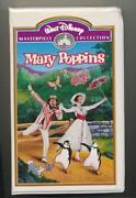 Walt Disney Mary Poppins VHS