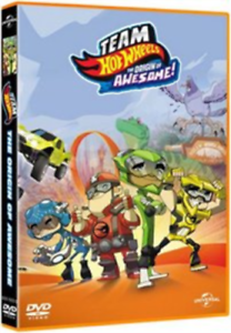 Team Hot Wheels The Origin of Awesome - DVD Region 2