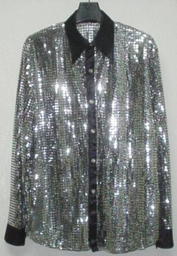 Mens Sequin Shirt Ebay
