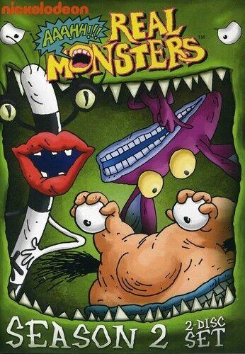 Aaahh!!! Real Monsters: Season 2 [2 Discs] (2012, REGION 1 DVD New)