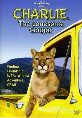 Charlie, The Lonesome Cougar [New DVD]
