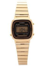 CASIO · Ladies' Digital Watch · Gold
