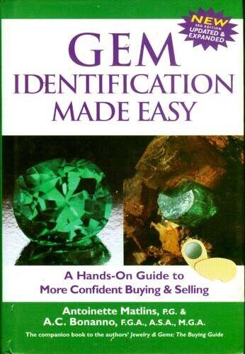 Easy Gemstone Identification Testing Tools Fakes Synthetics Simulants Species