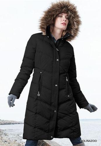 Coat Maxi Hood Ebay
