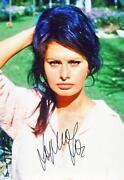 Sophia Loren Signed