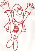 Bud Man Stickers