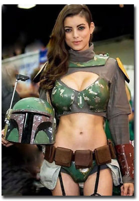 Boba Fett Star Wars Beautiful Sexy Girl Collection 2
