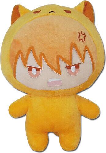 "Fruits Basket Kyo 6"" Cat Plush Doll Anime Licensed NEW"