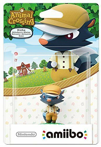 Amiibo Animal Crossing Kicks (Nintendo Wii U/3DS) NEW SEALED