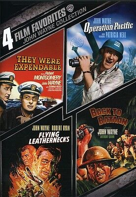 John Wayne War  4 Film Favorites  2 Discs  Dvd Region 1