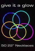 50 Glow Sticks