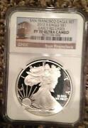 2012 Silver Eagle Proof NGC
