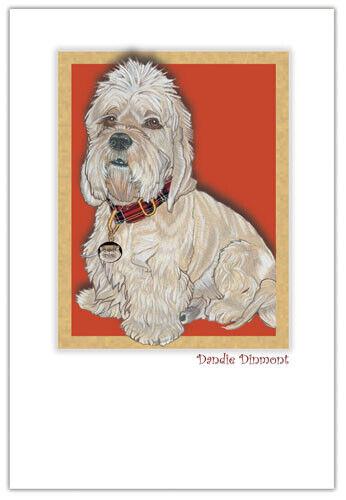 Dandie Dinmont Birthday Card