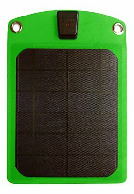 Platinum Choice Products -Solar Phone Charger Green-Best Outdoor Accessory (Best Solar Power Charger)