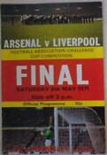 Arsenal Final Programmes