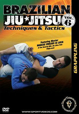 Brazilian Jiu-Jitsu BJJ Techniques and Tactics DVD - Grappling - Free Shipping