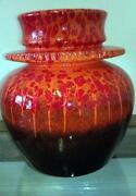 Fat Lava Floor Vase