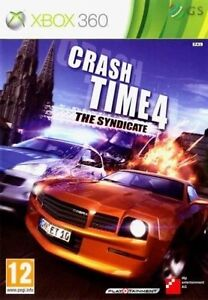 Crash Time 4 The Syndicate Xbox 360 Brand New