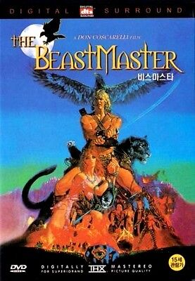 THE BEASTMASTER (1982) New Sealed DVD Marc Singer