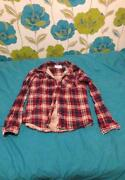 Ladies Checked Shirt Size 10