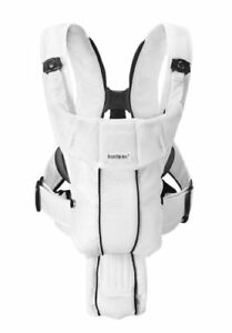 BABYBJORN Baby Carrier Synergy - White, Mesh ** LIKE NEW