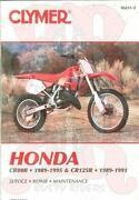 Honda CR125 Manual