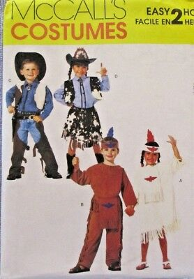 McCalls Pattern M2851 Size 3-4 Costumes Easy 2 Hour Plays Theatre Halloween](3 Easy Halloween Costumes)